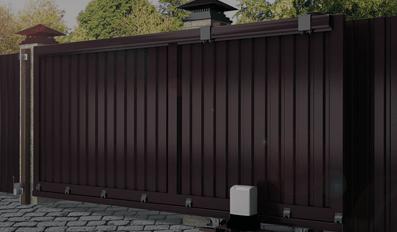 Откатные ворота с установкой под ключ от Заборпроф