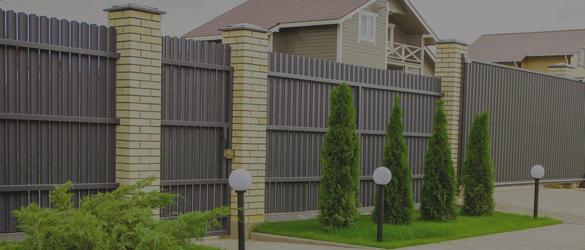 Заказать забор для дачи с установкой в компании Заборпроф