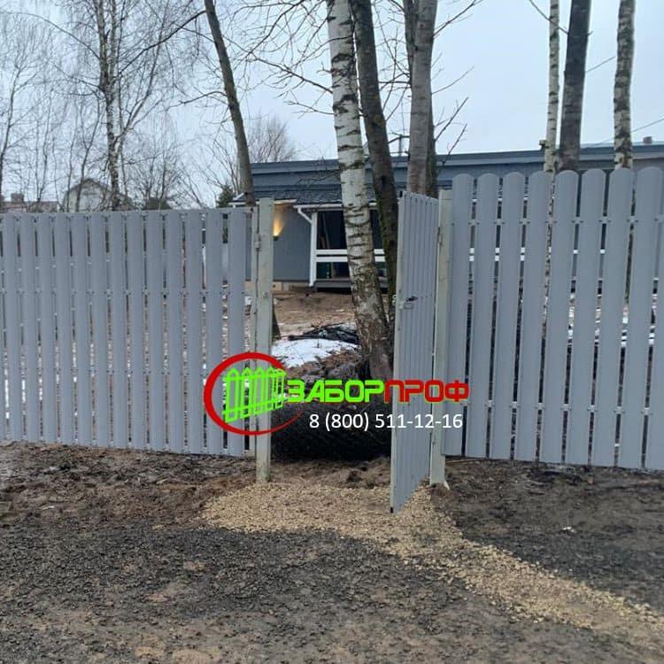 Заборы для загородного дома под ключ